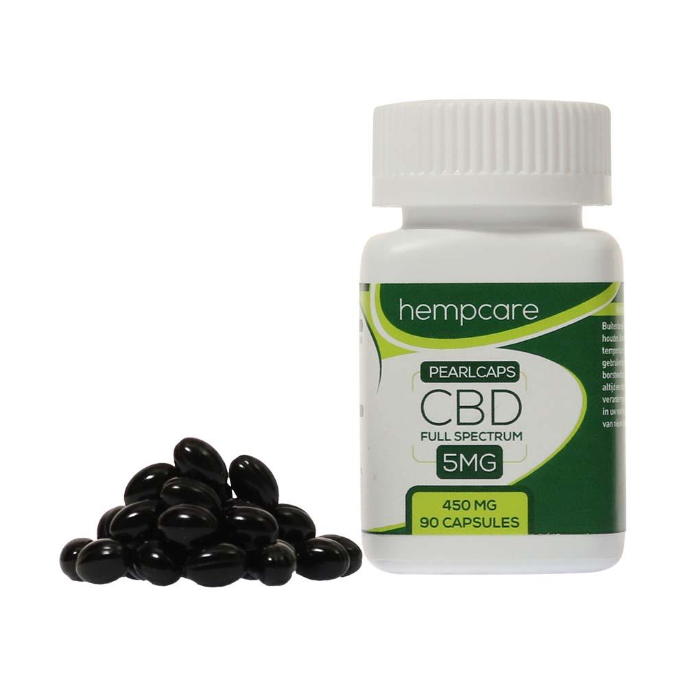 ✅ Hempcare Pearlcaps 5% CBD (90 capsules) Smartific.com