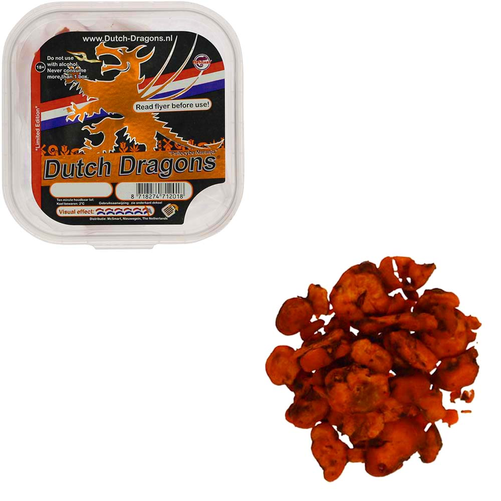 Dutch Dragons Magic Truffels (Psilocybe Naranja) Smartific.nl