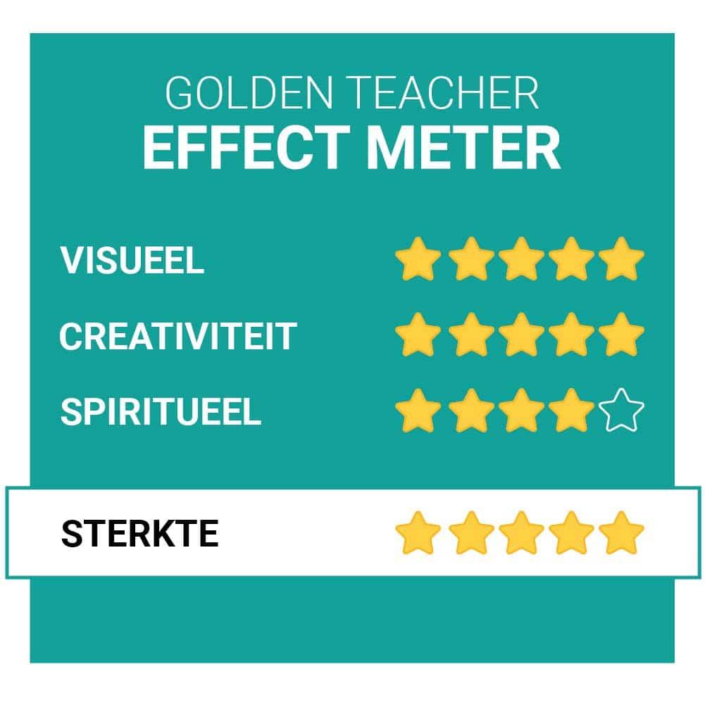 Golden Teacher Paddo's Effecten Smartific.nl