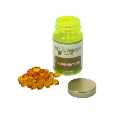 Lifestyle Caps Tarwekiem olie (130) capsules)