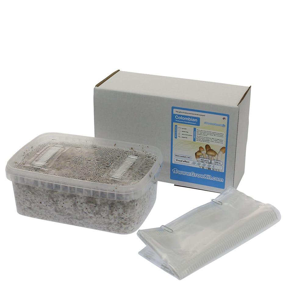 ✅ McSmart Colombian Paddo Grow Kit (Psilocybe Colobienscens) 1200cc analyse - Magische Paddo's - Smartific.com