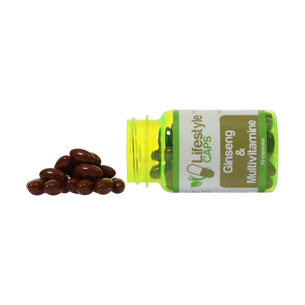 Lifestyle Caps Ginseng and Multivitamins (90 capsules)