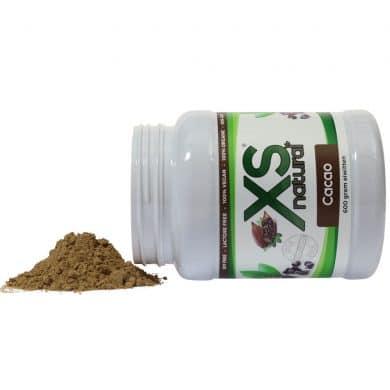 XS Natural Vegan Cacao Protein Shake (600 grams)