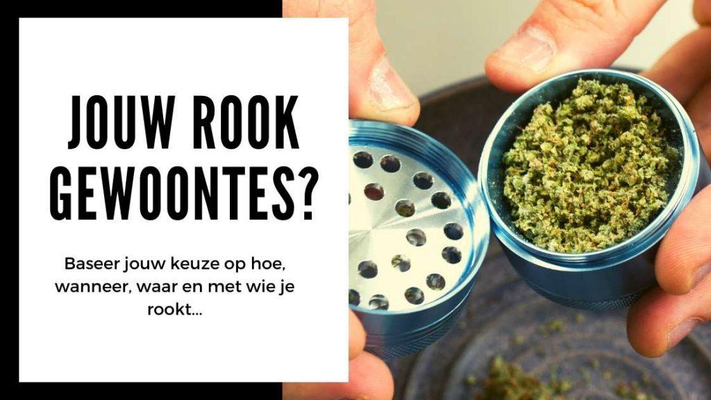 ✅ Kies je wiet grinder - Jouw rook gewoontes - Smartific