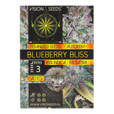 ? Vision Seeds Wietzaadjes Auto BLUEBERRY BLISS Smartific 2014190/2014189
