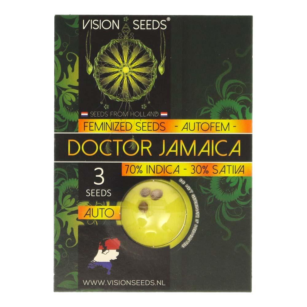 🌿 Vision Seeds Wietzaadjes Auto DOCTOR JAMAICA Smartific 2014194/2014193