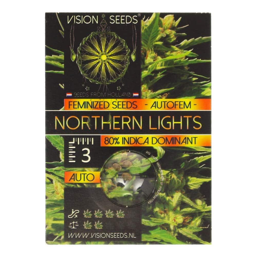 🌿 Vision Seeds Wietzaadjes Auto NORTHERN LIGHTS Smartific 2014200/2014199
