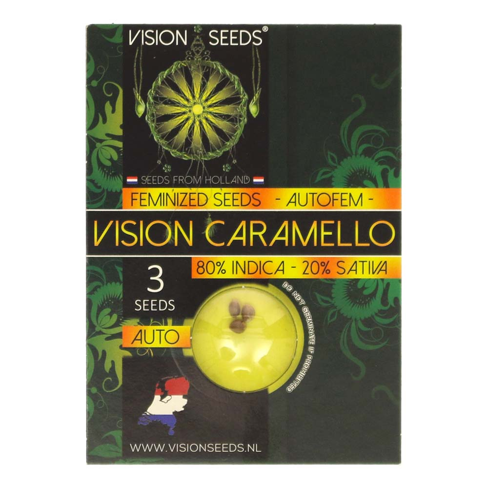 🌿 Vision Seeds Wietzaadjes Auto VISION CARAMELLO Smartific 2014204/2014203