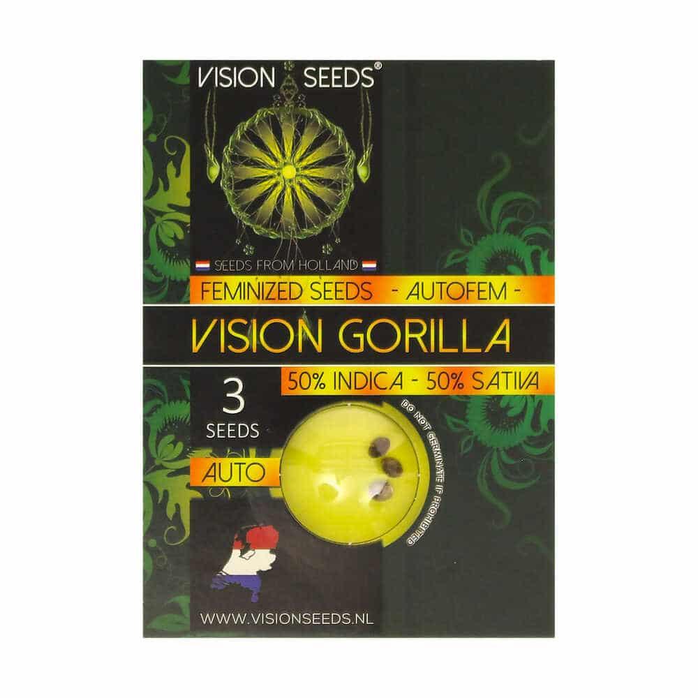 🌿 Vision Seeds Wietzaadjes Auto VISION GORILLA Smartific 2014210/2014209