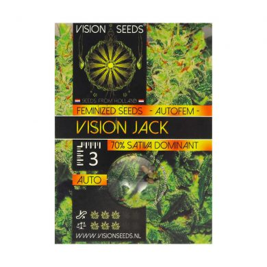 🌿 Vision Seeds Wietzaadjes Auto VISION JACK Smartific 2014212/2014211