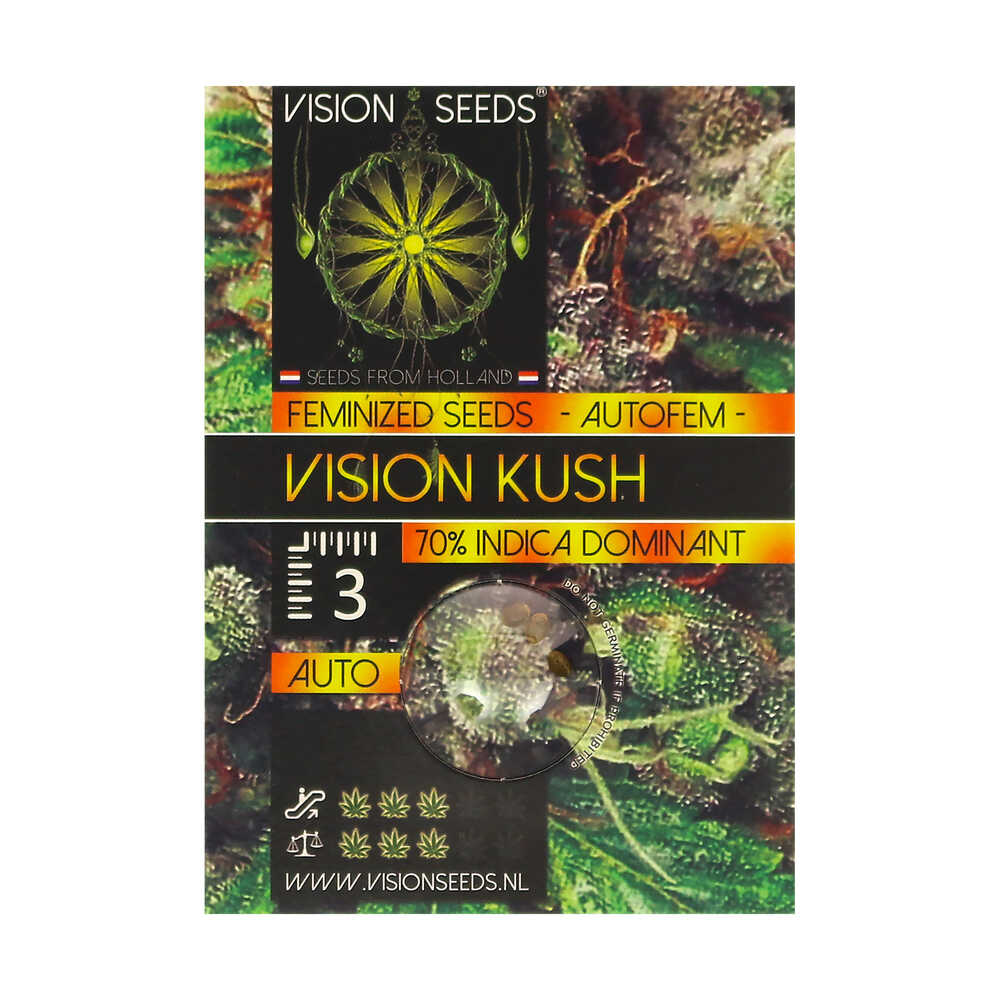 🌿 Vision Seeds Wietzaadjes Auto VISION KUSH Smartific 2014214/2014213