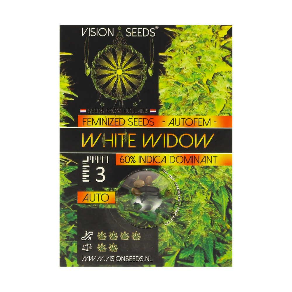🌿 Vision Seeds Wietzaadjes Auto WHITE WIDOW Smartific 2014216/2014215