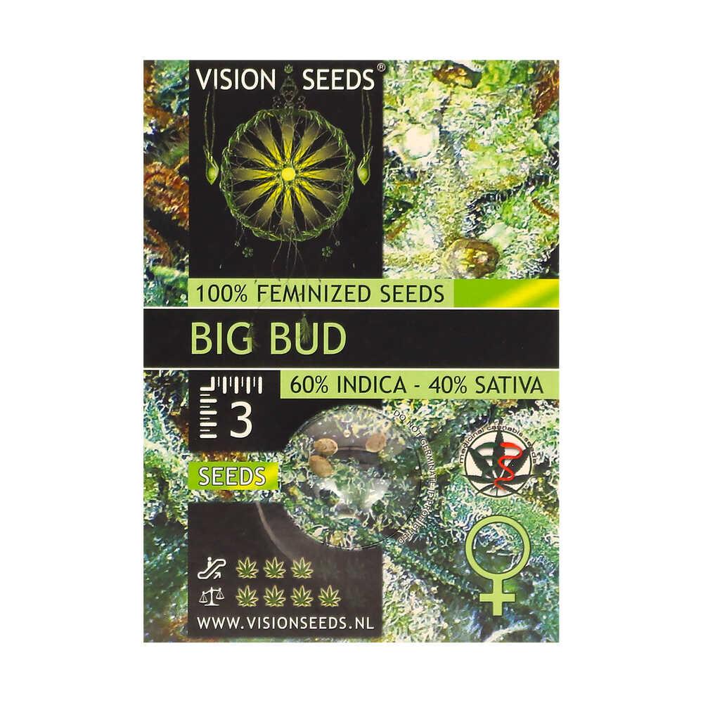 ? Vision Seeds Gefeminiseerd Wietzaadjes BIG BUD Smartific 2014224/2014223
