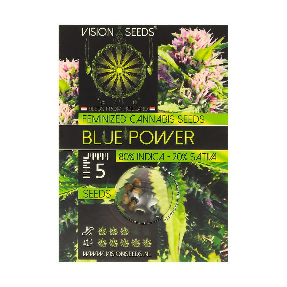 🌿 Vision Seeds Gefeminiseerd Wietzaadjes BLUE POWER Smartific 2014226/2014225