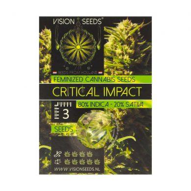 🌿 Vision Seeds Gefeminiseerd Wietzaadjes CRITICAL IMPACT Smartific 2014238/2014237