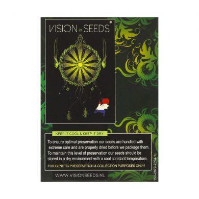 🌿 Vision Seeds Gefeminiseerd Wietzaadjes DARK STAR X AK-49 Smartific 2014241/2014240