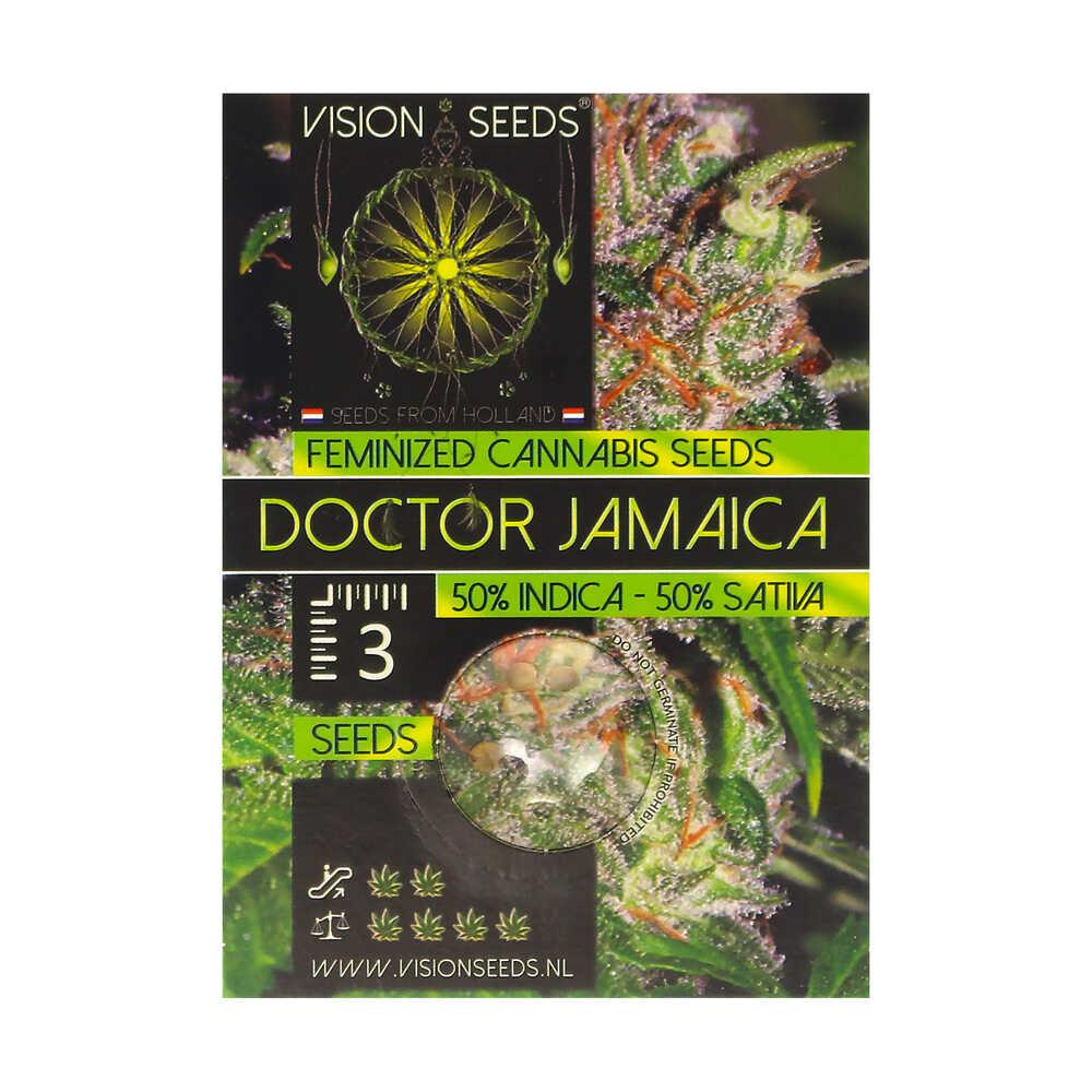 🌿 Vision Seeds Gefeminiseerd Wietzaadjes DOCTOR JAMAICA Smartific 2014244/2014243