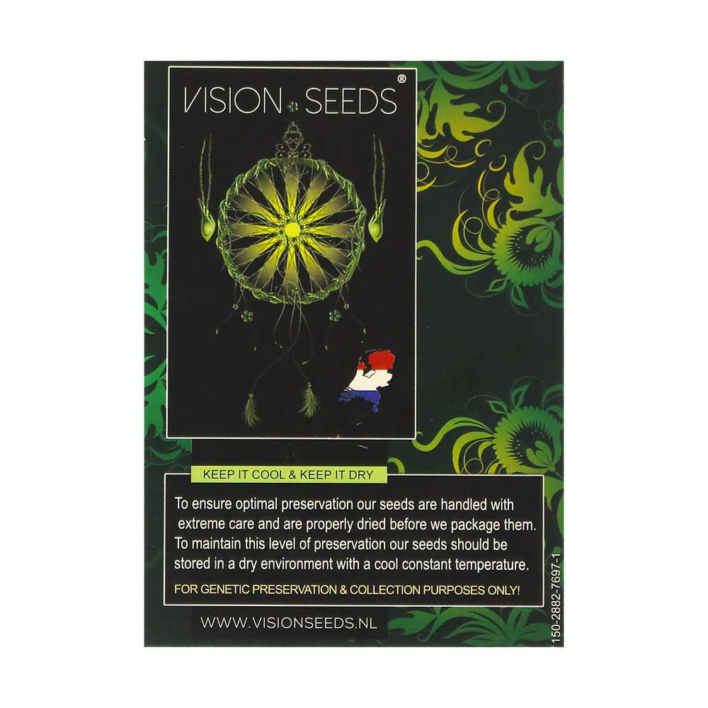 🌿 Vision Seeds Gefeminiseerd Wietzaadjes LAMBS BREATH X AK-49 Smartific 2014250/2014249