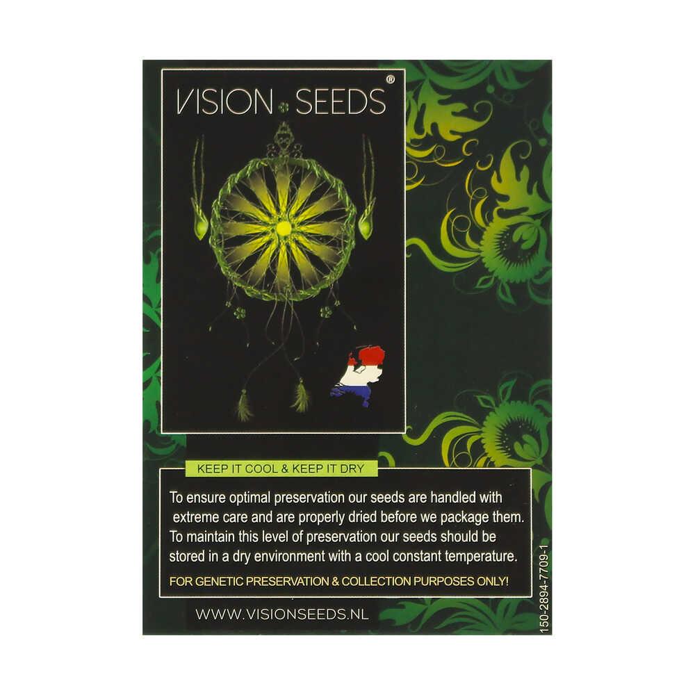 🌿 Vision Seeds Gefeminiseerd Wietzaadjes VISION KOSHER Smartific 2014278/2014277