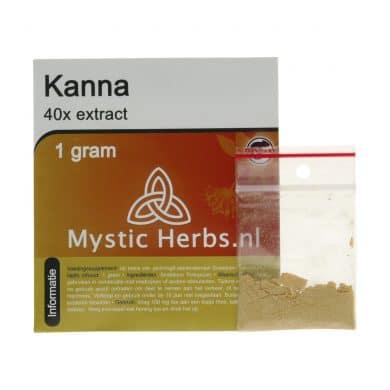 ? Mystic Herbs Kanna 40x Extract Smartific 8718274712476