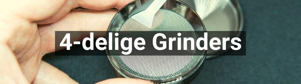 ✅ Alle hoge kwaliteit 4-delige Grinders producten van Smartific.nl