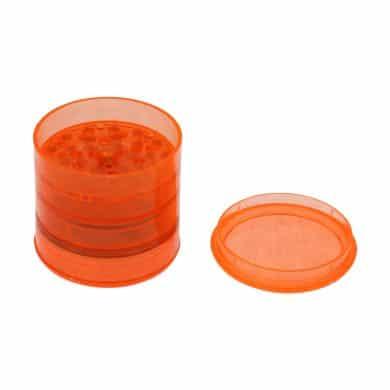 🧐 Acryl 5-delige oranje grinder Smartific 4250153602224
