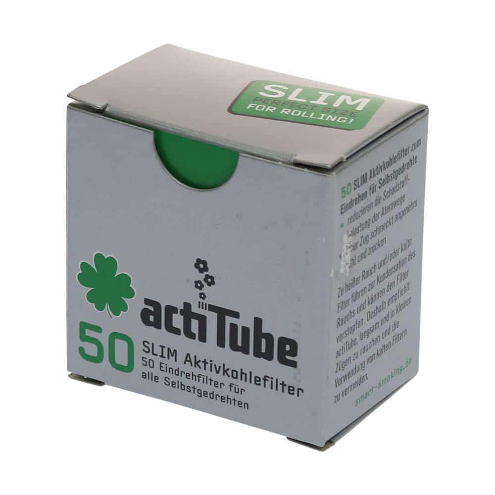 💨 ActiTube actieve houtskool dunne filtertip Smartific 4260041939950
