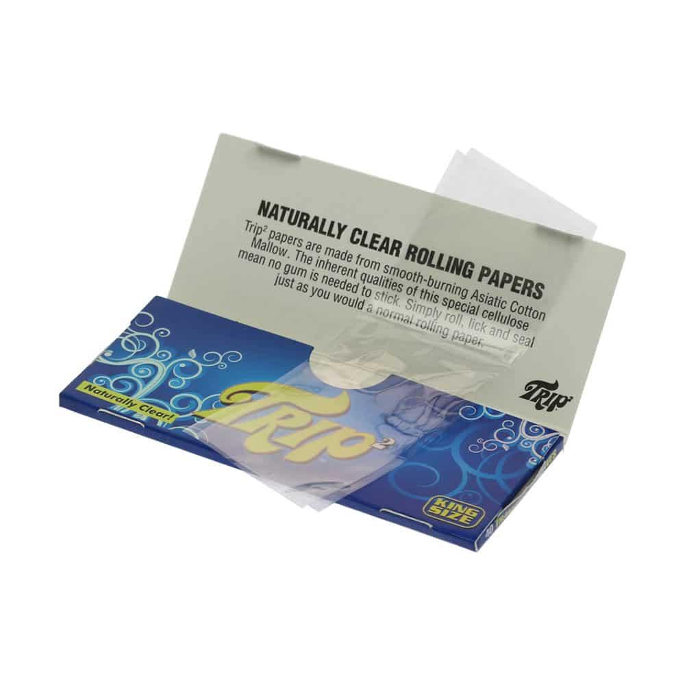 💨 Doorzichtige cellulose King Size vloei Smartific 716165172031