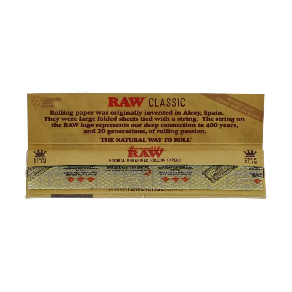 💨 Raw Classic King Size Slim Lange Vloei Smartific 716165177364