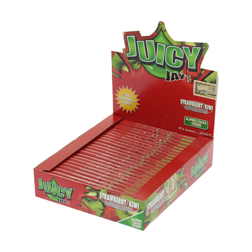 💨 Vloeitjes met aardbei-kiwi-smaak Juicy Jay's Smartific 716165179856