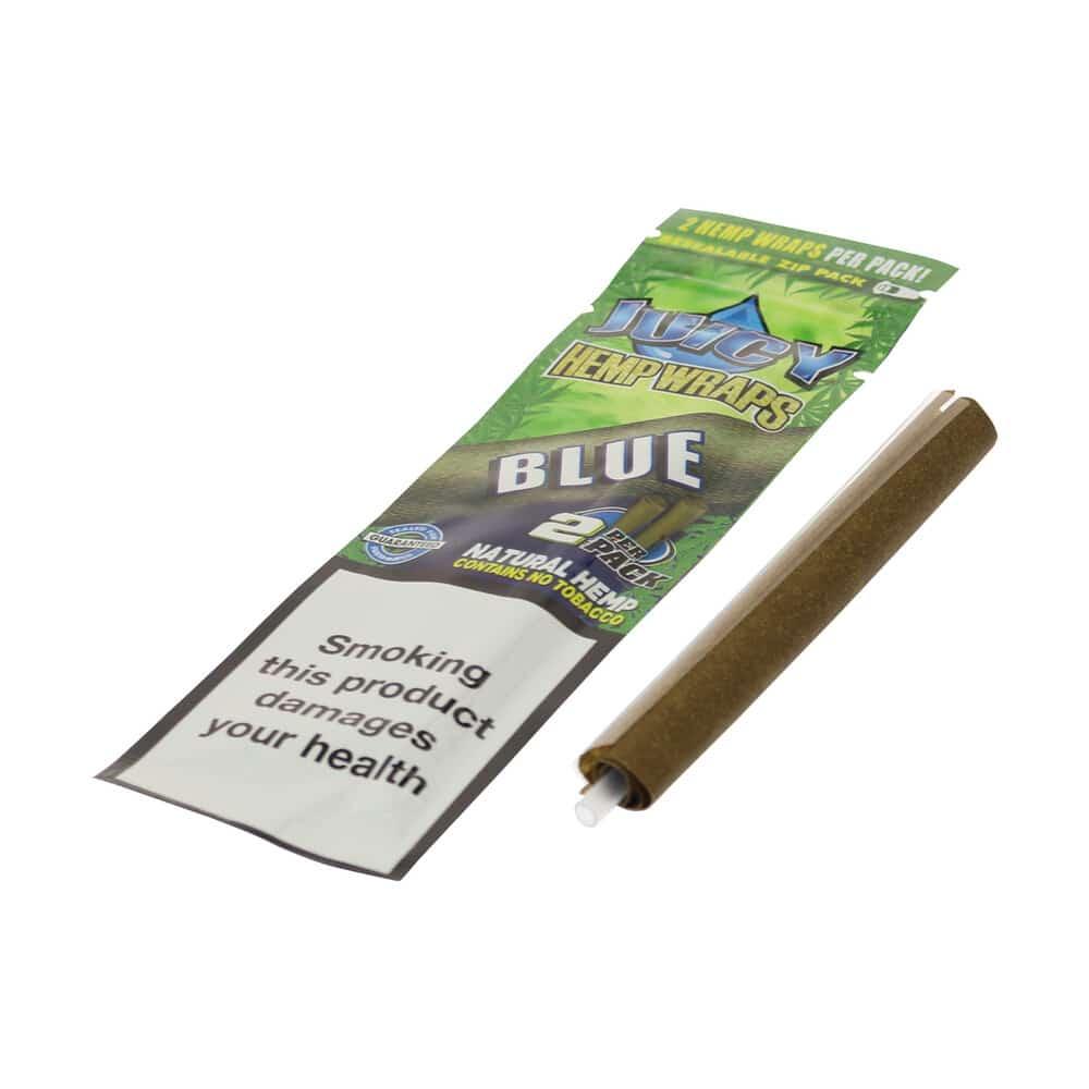 💨 Black'n Blueberry gearomatiseerde hennep wraps Juicy Jay's Smartific 716165281283