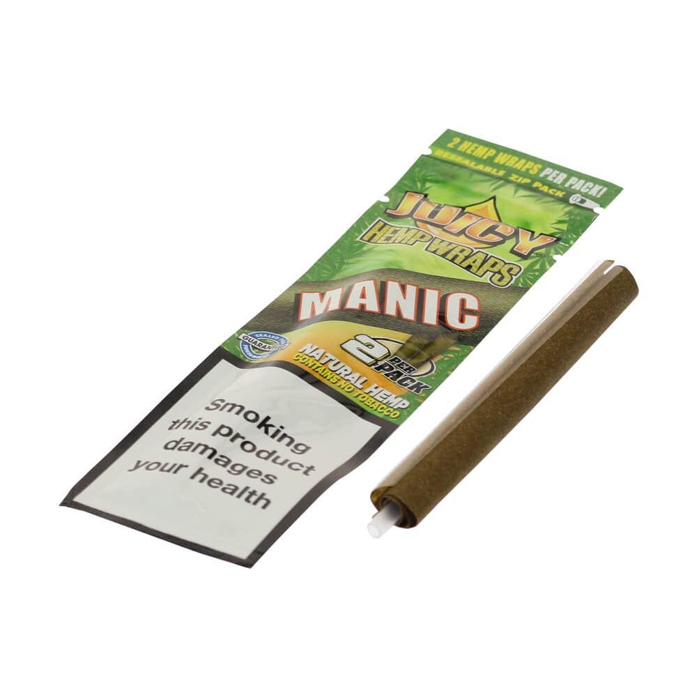 💨 Mango & Papaya gearomatiseerde hennep wraps Juicy Jay's Smartific 716165281320