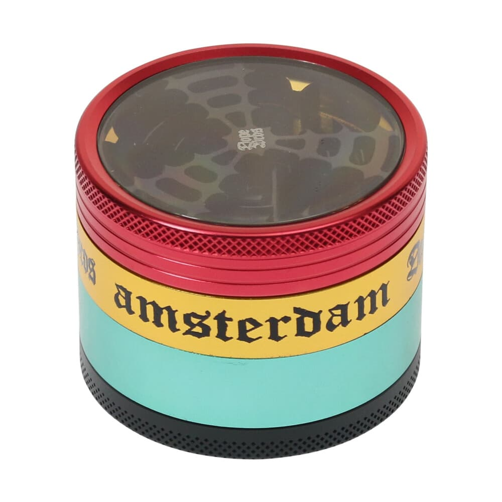 🧐 Dope Bros Rasta Grinder Smartific 7201613000132