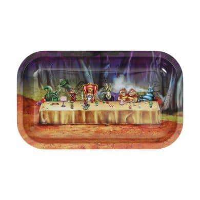 🧐 Alice in Grinderland Table Groot dienblad van metaal Smartific 777791173441