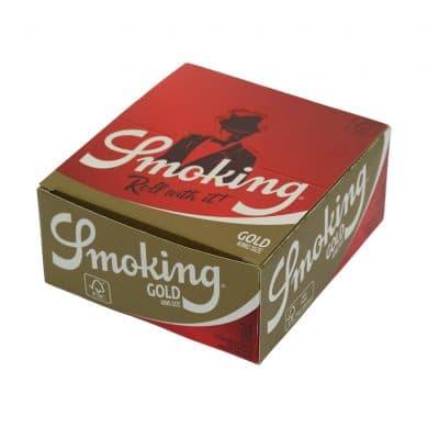 💨 Smoking King Size Slim Gold Lange Vloei Smartific 8414775011048