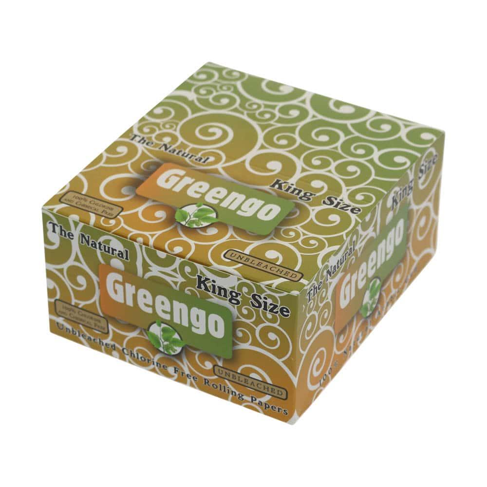 💨 Greengo Ongebleekt King Size Lange Vloei Smartific 8595134501261