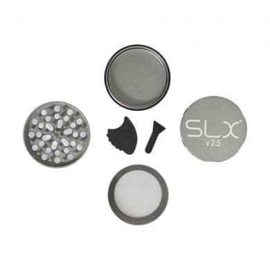 🧐 Zilverkleurige SLX-grinder met keramische coating Smartific 8718053635637