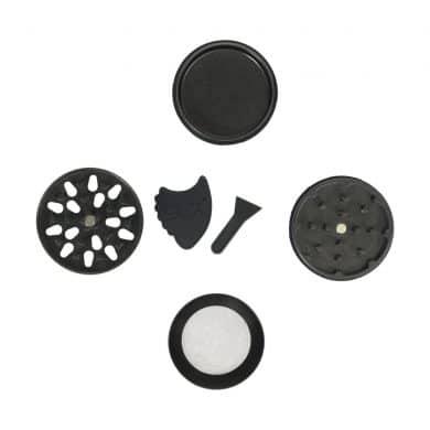 🧐 Kleine zwarte SLX grinders met keramische coating en anti aanbaklaag Smartific 8718053635644