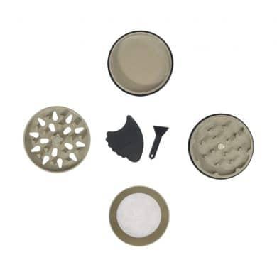 🧐 Kleine SLX Grinder met keramische coating en anti aanbaklaag Smartific 8718053635651