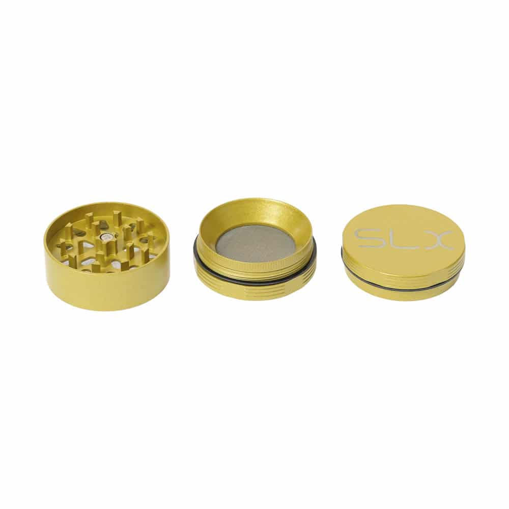 🧐 Keramisch gecoate, niet-klevende gele kleine SLX-grinder Smartific 8718053635705