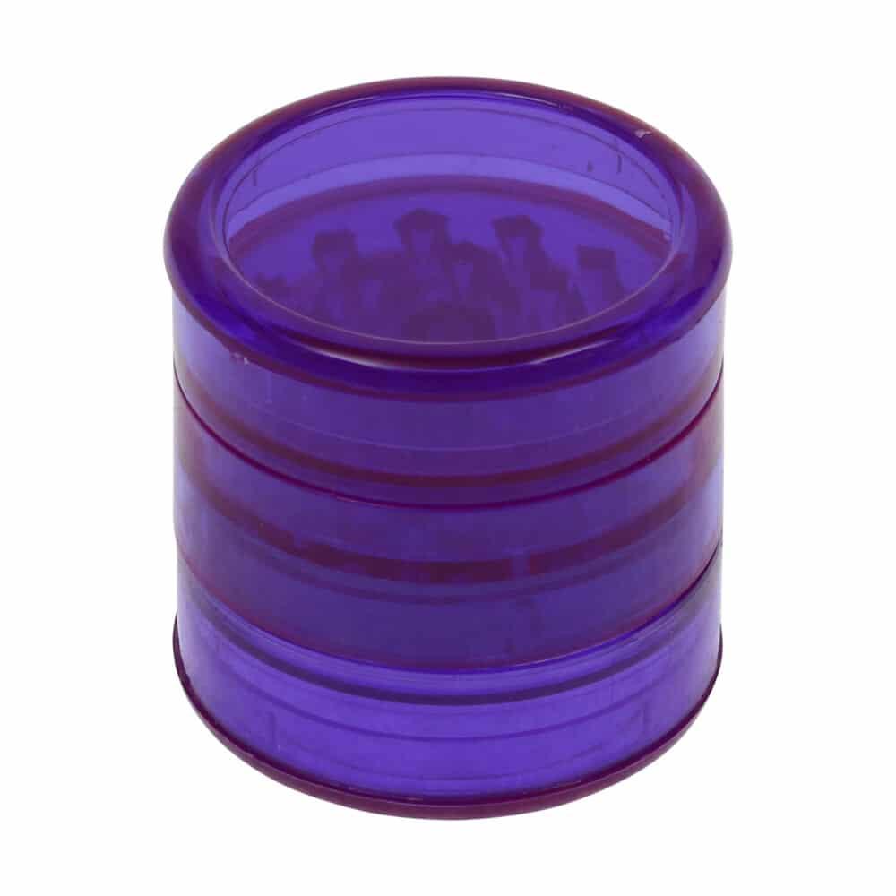 🧐 Acryl 5-delige paarse grinder Smartific 8718053638904