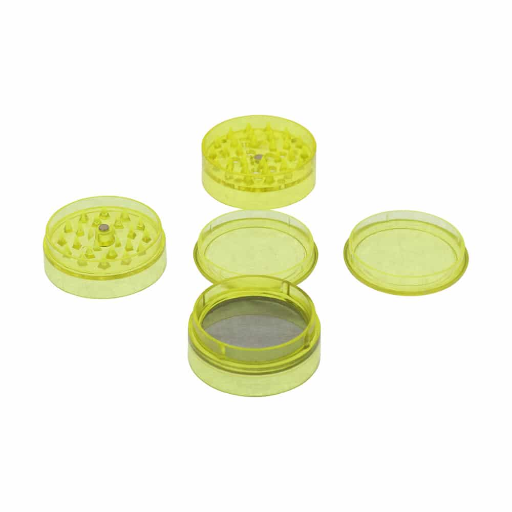 🧐 Acryl 5-delige gele grinder Smartific 8718053639345