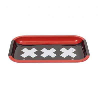 🧐 Amsterdam XXX Grote Metalen Rolling Dienblad Smartific 8718274713572