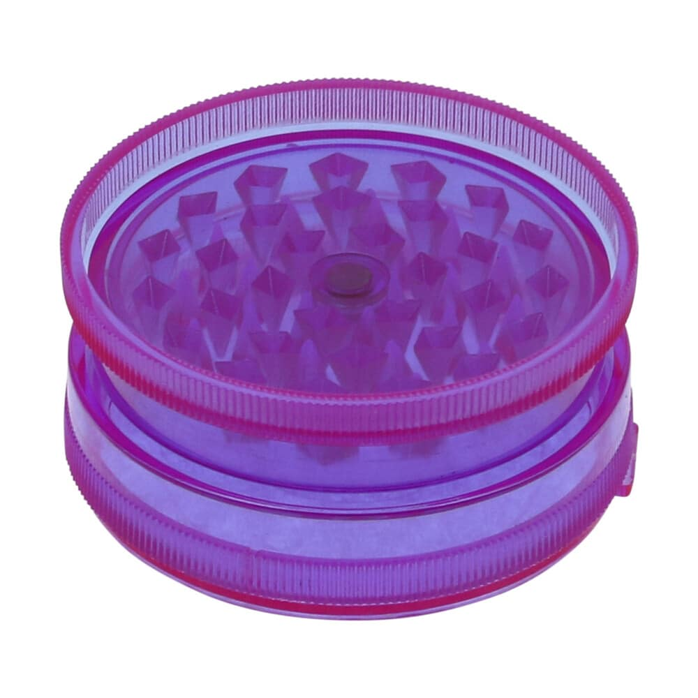 🧐 Acryl 3-delige paarse grinder Smartific 8718274715354