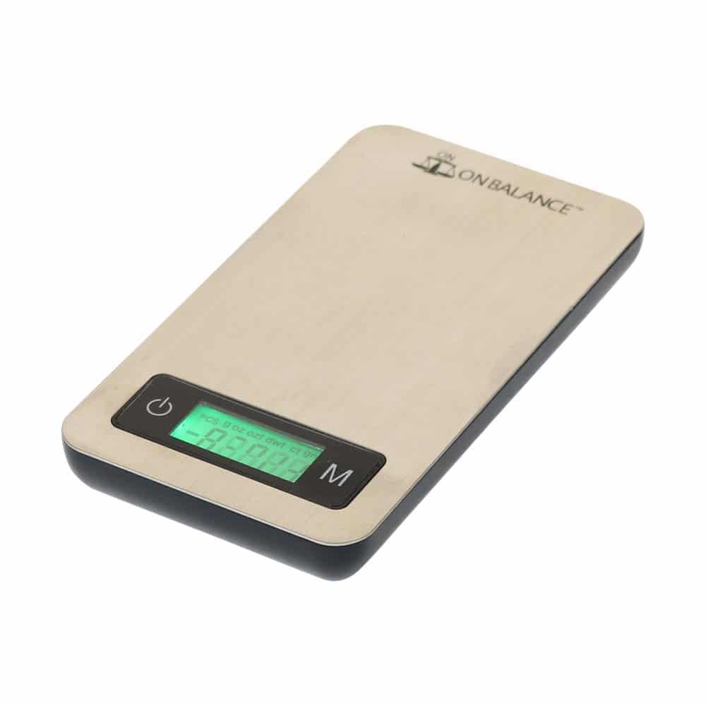 🧐 Weegschaal On Balance Pro-Steel PRS-100 (100g x 0.01 g) Smartific 5060347971321