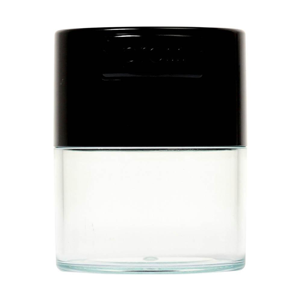 🧐 Kleine Tightvac Stashbox Clear met zwarte dop Smartific 609465409641