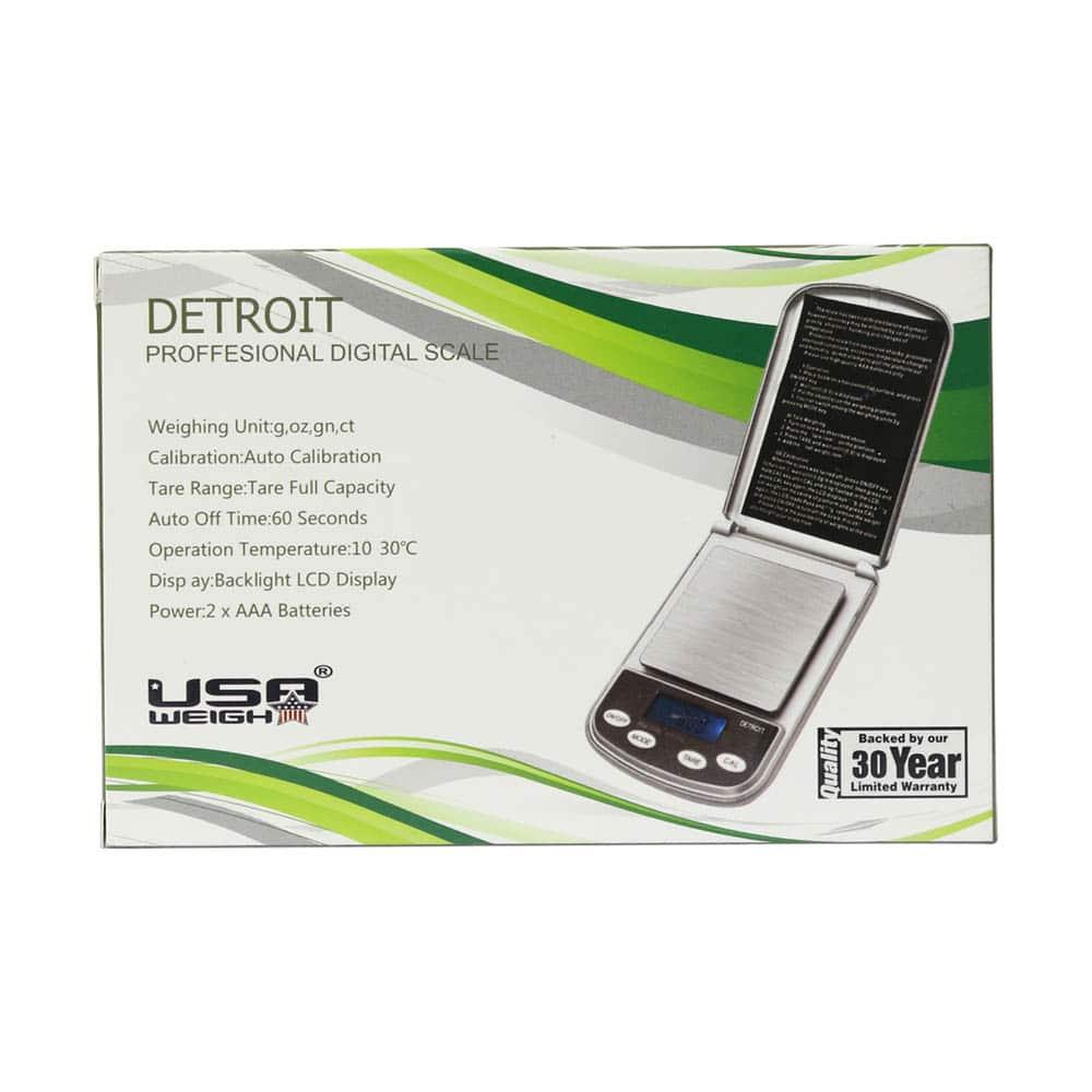 🧐 Detroit Weegschaal (600 g x 0,1 g) Smartific 70080404545