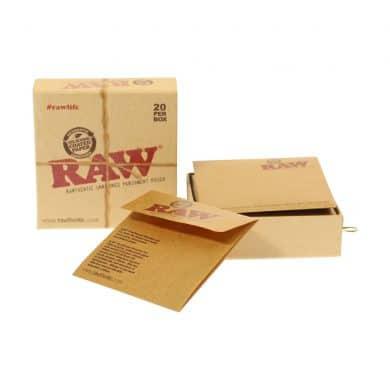 💨 Raw ongeraffineerde perkament zakjes Smartific 716165157267