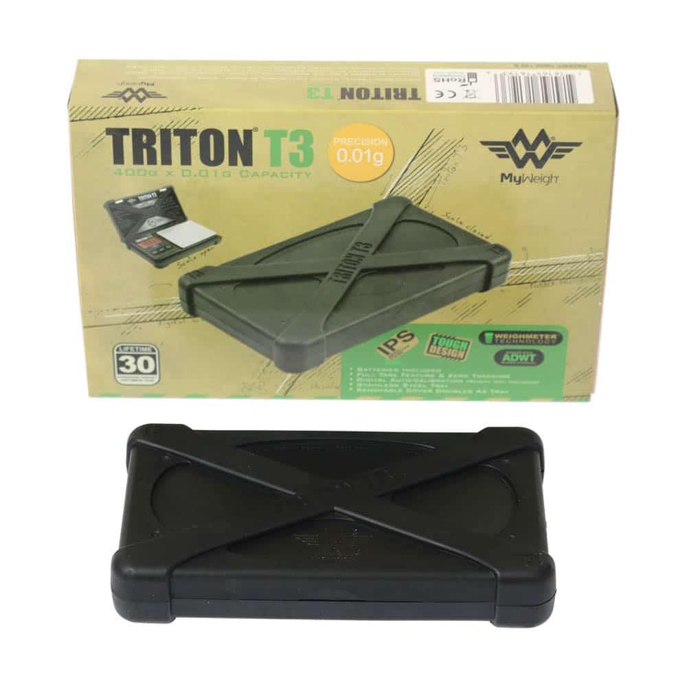 🧐 Slagvaste Triton T3-zakweegschaal (400 g x 0,01 g) Smartific 716165161936