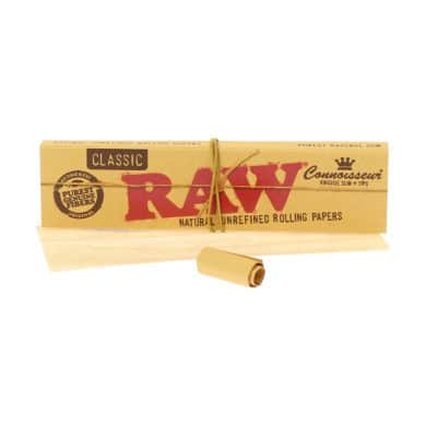💨 Raw Classic Connoisseur King Size Slim vloei en tips Smartific 716165174028